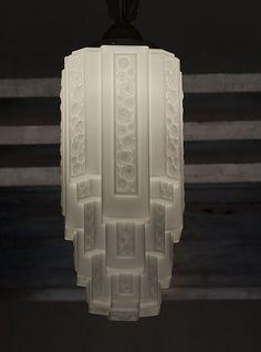 Art Deco light fixture