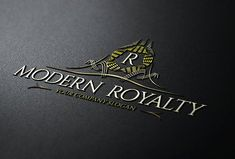 Modern Royalty Logo Template by LogoBuy on @creativemarket