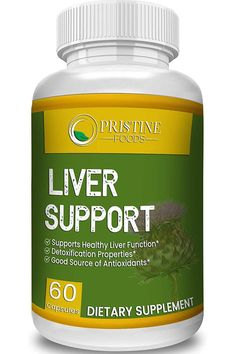 Liver Supplement with Milk Artichoke Dandelion Root Support Healthy Liver Function for Men and Women