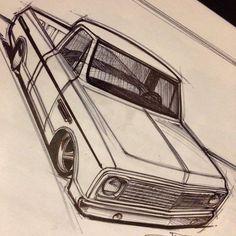 chevy c10 split 5 star bforged wheels drawing rendering