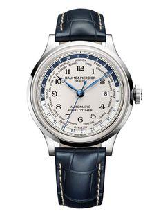 Baume & Mercier Capeland Worldtimer; world time watch