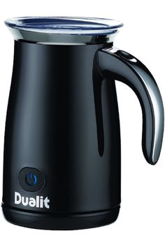 Dualit's Black Steel Milk Frother offers sleek styling and patented frothing functionality. Taking pride of place as the barista's secret weapon, Dualit's Milk Frother offers you the professional finishing touch for your lattes, cappuccinos, hot chocolates or chilled milkshake. The fresh and fast froth is now a reality in your kitchen's very own coffee shop - hot or cold, frothy or smooth. It can even bring an indulgent twist to everyday instant coffee. Product Dimensions 6.6 x 4.7 x 7.7 inches Cheap Wall Decor, Ceiling Fan With Remote, Instant Coffee, Specialty Appliances, Small Kitchen Appliances, The Fresh, Milkshake, Healthy Cooking, Kettle
