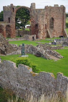 Lindisfarne, The Priory - Holy Island, Northumberland, England