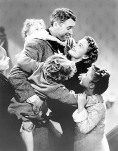 It's a Wonderful Life; a Christmas staple.... Can't wait for Xmas eve to watch this xxx