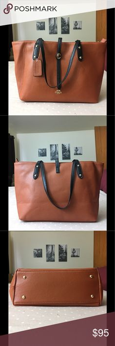 Coach tote style Beautiful designer inspired Coach tote style. NON auth. New, never worn. Coach Bags