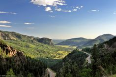 Wolf Creek Pass Colorado.  Threatened by proposed resort and village development.