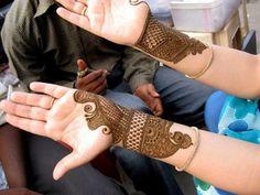 Design of Rajasthani Mehndi