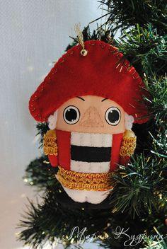 Купить Щелкунчик - новогодние игрушки, елочные игрушки, елочная игрушка, новогодний подарок, новогодние украшения