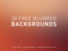 30 Free Backgrounds (800x600)