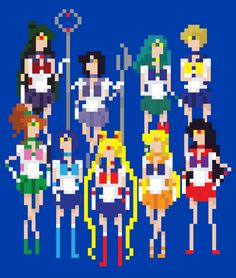 Eeeee! I love Sailormoon!