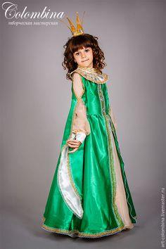 Купить Костюм Царевны Лягушки - зеленый, царевна лягушка, костюм царевны лягушки, карнавальные костюмы