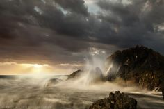 Coastal Sunset by Andrew Wilson