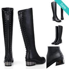 On Sale for $138.99 (was $226.99) - Knee High - Maissa @shoesofexception #trendy #womensfashion #boots