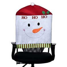 Iuhan Fashion 1PC Hat Chair Covers Christmas Decor Dinner Chair Xmas Cap B * Read more reviews of the product by visiting the link on the image.