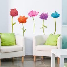 Flores Spring - Vinilos decorativos