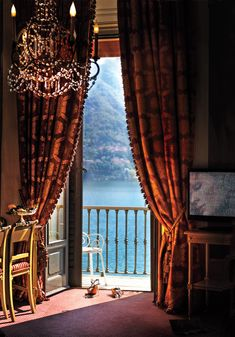 Villa D'Este, Cernobbio, Italy. Condé Nast Traveller. www.cntraveler.com/room-with-a-view/photos-room-with-a-view?mbid=tumblr