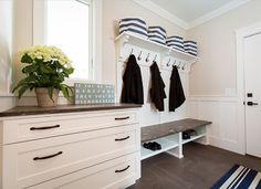 Wall paint color is Pale Oak OC-20 Benjamin Moore. Interior Design Ideas