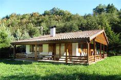 ZEANURI 85m2 ENTRAMADO LIGERO, Casas construidas  con madera www.donacasa.es VR.a.34.000 of eenvoudig 10.000
