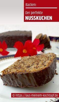 Der perfekte Nusskuchen - Ein üppiges Familienrezept The perfect nut cake - A sumptuous family recipe - the cake Easy Vanilla Cake Recipe, Chocolate Cake Recipe Easy, Homemade Vanilla, Homemade Chocolate, Easy Cookie Recipes, Baking Recipes, Cake Recipes, Dessert Recipes, Italian Pastries