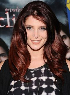 Layered Red Ombre Hair - Hairstyles  2013