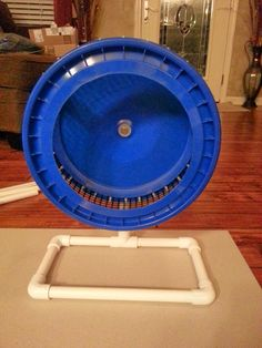 Build your own sugar glider exercise wheel for a fraction of the cost.