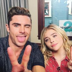Hey, @zacefron & @chloegmoretz, we'd love to be #neighbors with either of you!  Which of these 2 would you rather live next to?