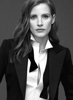 Life Lessons with Jessica Chastain - Life Lessons with Jessica Chastain- HarpersBAZAARUK -