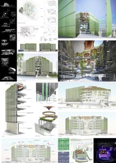 """Hong Kong 'GIFT' Ideas Competition Winners Announced / """"Gift"""" by Chang King Kwan and Benjamin Lee - Architects: """"Our gift to Hong Kong combines science with nature, a blend of man-made forms with a softness that only comes from the natural world. Our concept based on the Taoist Yin and Yang principles, presents a series of opposite and equal qualities. Light and shade, warm and cool, hard and soft, and places these qualities in a building which will both educate and inspire."""""""