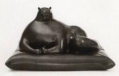 O Gato © Fernando Botero (Colombia) 1976 Bronze