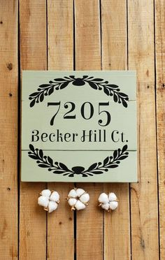 STREET ADDRESS PLAQUE House Numbers, Farmhouse Decor, Pallet Wood Number Art, Porch Sign, Personalized, Housewarming Gift, Rustic Sign Address Plaque, Address Signs, Wood Pallets, Pallet Wood, Number Art, Chalk Paint Colors, Porch Signs, Rustic Signs, House Numbers