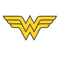 Wonder Woman Logo T Shirt Iron On Transfer 3 Sizes