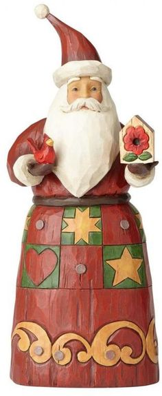 Handcrafted Christmas Santa Figure with Red Bird Tabletop Holiday Decor 10 Inch Check out Handcrafted Christmas Santa Figure with Red Bird Tabletop Holiday Decor 10 Inch#SantaClaus #Handcrafted #Christmas #Santa #Figurine #Holiday #Decor #SantaFigurine #Holiday #Decor #ChristmasDecor #Holiday #Seasonal #HomeDecor #HolidayDecor #10Inches