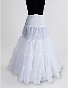 Slips Ball Gown Slip Floor-length 1 Nylon/Tulle Netting White. Get awesome discounts up to 70% Off at Light in the Box using Coupons.