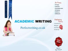 Perfect Writing is one of the top academic writing services in United Kingdom. Our writing services have all the necessary things which every single student needs while hunting a best academic writer for their assignments.  Log on to our website and compare us ☛ http://www.perfectwriting.co.uk