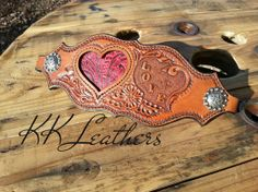 ❦ KK Leathers... Nothing Better than to give your loved one an awesome noseband!!