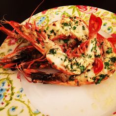 Garlic Parsley Colossal Shrimp