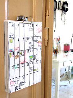 calendar 2017 (18 months)