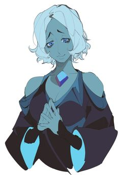 Steven Universe Theories, Steven Universe Funny, Universe Art, Blue Diamond Su, Blue Diamond Steven Universe, Cn Fanart, The Ancient Magus Bride, Character Design Inspiration, Animes Wallpapers