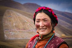 A Tibetan Woman by William Yu on 500px