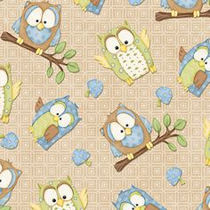 You Whoo Blue Owls by Henry Glass