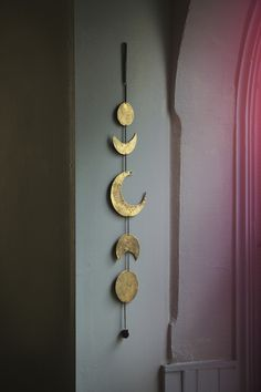 Gold Moon Phase Chime | Free People