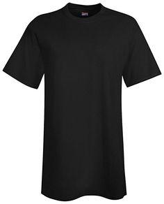 Hanes Beefy-T Men`s Tall T-Shirt - Best-Seller, 518T, LT, Black: Amazon.co.uk: Car & Motorbike