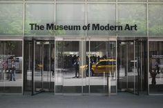 Moma Nyc, Office Entrance, Door Gate, Vestibule, Shop Fronts, Museum Of Modern Art, Atrium, Glass Door, Canopy