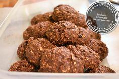 Biscuits breakfast choco-banana for a breakfast on the go! At the end of the lan Breakfast Biscuits, Breakfast Cookies, Breakfast Recipes, Breakfast On The Go, Cookie Desserts, Love Food, Great Recipes, Brunch, Food And Drink
