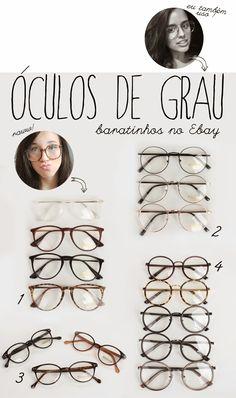 Óculos  armações baratinhas no Ebay! Bijoux, Accessoires De Mode,  Accessoires 33375ff14158