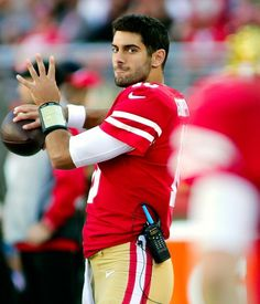 Jimmy Garoppolo on learning the 49ers offense: 'It's a work in progress and we're getting there'