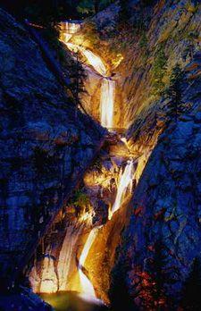 Seven Falls Colorado Springs - 30 minute drive from #WoodlandPark #VacationHome #PikesPeak #Colorado VRBO #320249