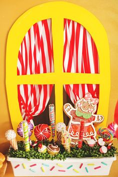 Hansel & Gretel Candy Themed Twins Birthday Party