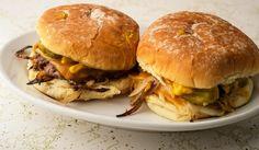 Diner Recipes, Burger Recipes, Grilling Recipes, Beef Recipes, Game Recipes, Beef Meals, Fried Onion Burger Recipe, Beef Tenderloin Roast, Pork Roast