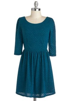 Isn't It Iconic Dress in Lagoon, #ModCloth
